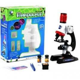 Микроскоп детский обучающий со светом 2121