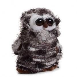 Мягкая игрушка глазастая Сова 10095 малая