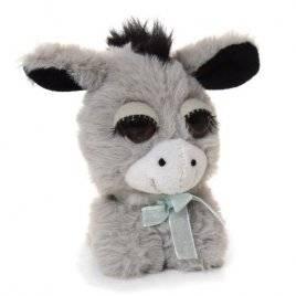 Мягкая игрушка глазастая Ослик 10097 малая