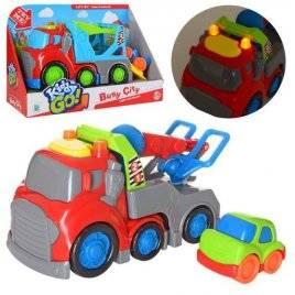 Машина со звук и светом+ машинка 2 вида10331-49