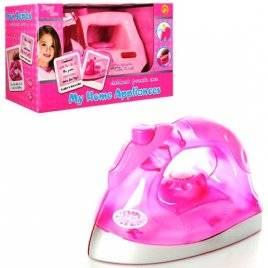 Утюг детский игрушечный со звуками и световыми эффектами JY1035-36