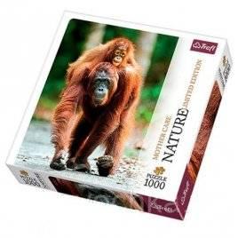 Пазлы Nature Орангутан Индонезия Trefl 1000 деталей 10514