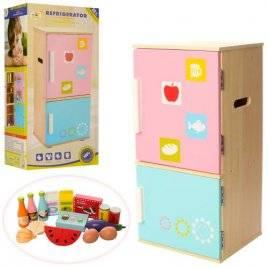 Холодильник детский деревянный двухкамерный 1065
