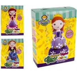 Набор для творчества масса для лепки Кукла на музыкальной подставке MK 1091