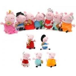 Мягкая игрушка Свинка Пеппа мини 11 см 10-3