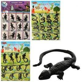 Липучка-змея, мышь или ящерица тянется от 18 см 1102-8901