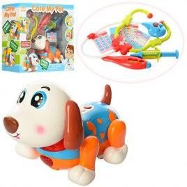 Собака с набором доктора интерактивная танцующая 11032