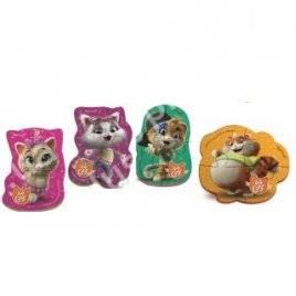 Беби пазлы Новинка! 44 кота VT1106-84/83Vladi Toys, Украина