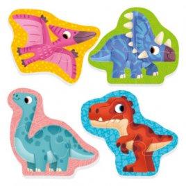Беби пазлы Динозавры VT1106-91 Vladi Toys