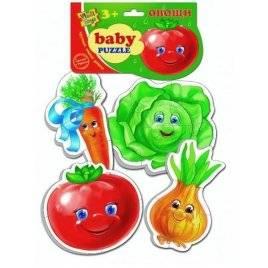 Беби пазлы Овощи VT 1106-03 Vladi Toys