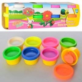 Пластилин в баночках  ароматизированный  8 цветов MK 1113
