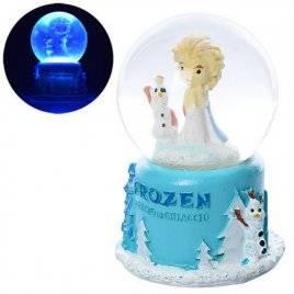 Снежный шар Frozen 7см со световыми эффектами X11465 FR