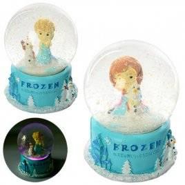 Снежный шар cо световыми эффектами X11467 Frozen 2 вида