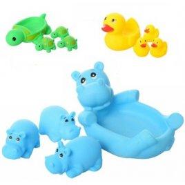 Пищалки для купания Животные семейка 3 вида T68-24-29-30