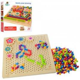 Мозаика Деревянная игрушка 1185