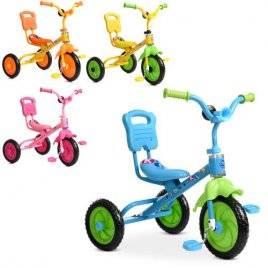 Велосипед детский  трехколесный со спинкой 1190