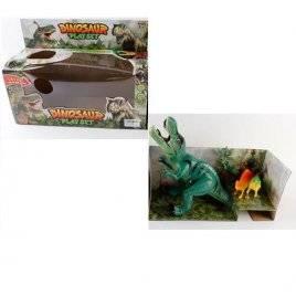 Динозавр Раптор с музыкой и светом 1191/1289