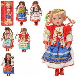 Кукла музыкальная Украинская красавица M 1191