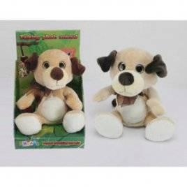 Мягкая игрушка повторюшка Собачка 22 см CL1195F