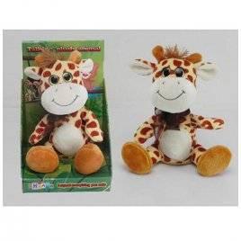 Мягкая игрушка повторюшка Жираф 22 см CL1195A