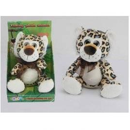 Мягкая игрушка Леопард повторюшка 22см CL1195E