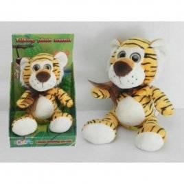Мягкая игрушка Тигр повторюшка 22 см CL1195C