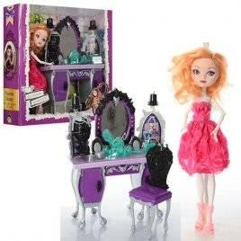 Мебель с куклой шарнирной Monster High 1201