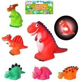 Динозаврик со световыми эффектами  1201-6