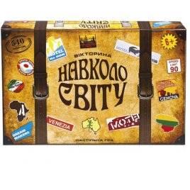 Игра детская настольная Вокруг света 1202 UA Полесье Беларусь