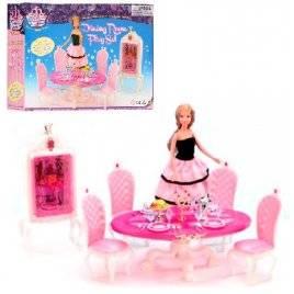 Мебель для кукол Старинная столовая Гламур  1212 Gloria