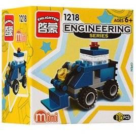 Конструктор мини Бульдозер 1218 Brick