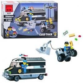 Конструктор Полицейская машина Brick 457833/127