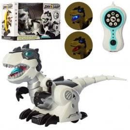 Робот Динозавр на радиоуправлении со светом и звуком 128A-21 RU