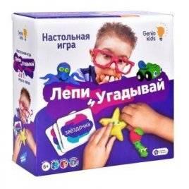 Настольная игра Лепи и угадывай TA1303 Полесье Беларусь