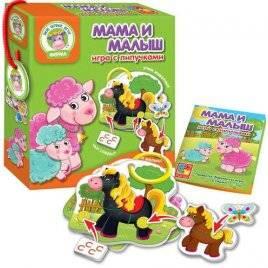 Игра с липучками «Мама и Малыш» VT1310-02