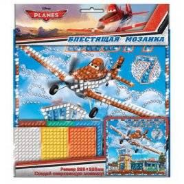 Блестящая мозаика Самолет 13153110Р Ранок