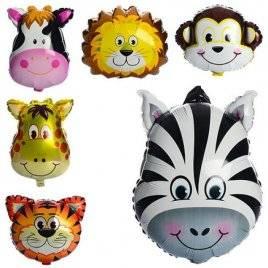 Шарики надувные фольгированные Животные MK 1332