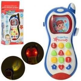 Телефон интерактивный детский мини Сотик 134B английский