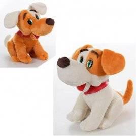 Мягкая игрушка собачка Дружок со звуком MP 1371