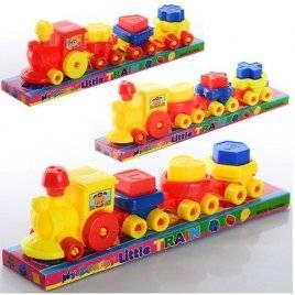 Паровоз Поезд вагоны-фигурки с буквами 1386B