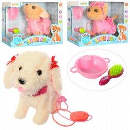 Собака интерактивная мягкая на дистанционном управлении CL1399-1402-1403