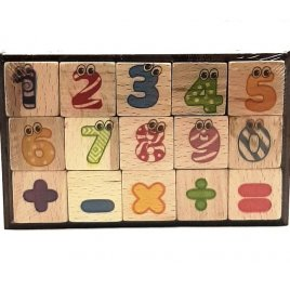 Кубики мини для изучения арифметики 141-06 ТМ Дерево