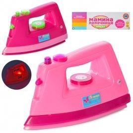 Утюг детский игрушечный со световыми эффектами 1495 CD