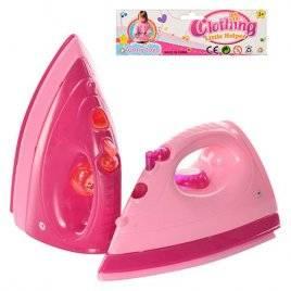 Утюг детский игрушечный со звуками и световыми эффектами 1495 CD