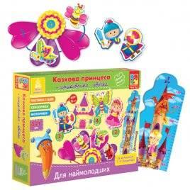 """Игра со шнурочками для самых маленьких """"Сказочная принцесса"""" VT1501-05 Vladi Toys"""
