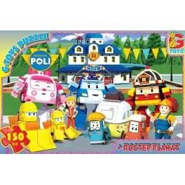 Пазлы из серии Робокар Полли 150 элементов 067439
