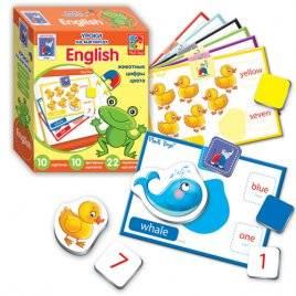 """Игра с магнитами Английский язык """"Животные или Семья"""" 1502-10-11"""