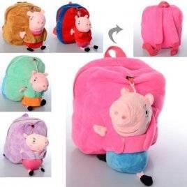 Рюкзак плюшевый Свинка Пеппа 1530