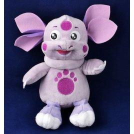 Мягкая игрушка фиолетовое животное