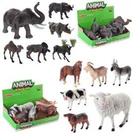Животные дикие или домашние 6 штук 16098BCD